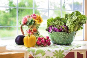 Die richtige Ernährung: Viel Obst und Gemüse