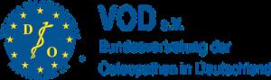 Logo des Bundesverbandes der Osteopathen in Deutschland VOD